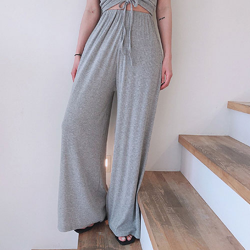 Shirring top & banding pants set (단품구매가능)