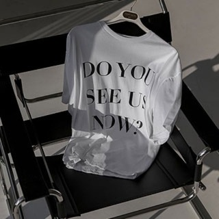 'Do you see us now' printing tee