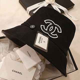 [수입]Chanel bungee hat (black/ white)