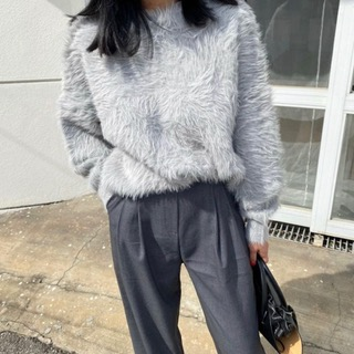 Soft mink knit (gray / brown/ pink / ivory)